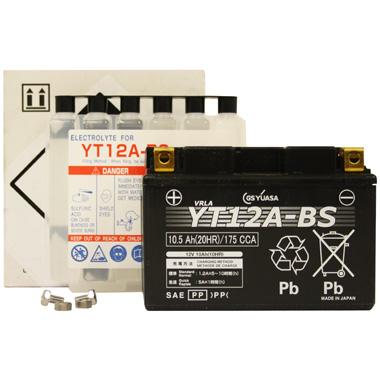 Yuasa YT12A BS MF Motorcycle Battery
