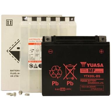 Yuasa YTX20L BS MF Motorcycle Battery