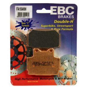 EBC FA104HH Rear Brake Pads Yamaha TZR125 1990 to 1995