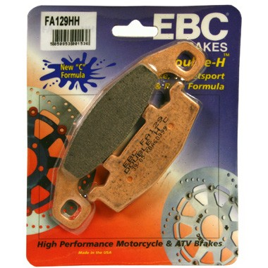 EBC HH Rear Brake Pads for Kawasaki GPX600R C1 to C7 1988 to 1996