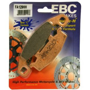EBC HH Rear Brake Pads for Kawasaki ZZR 600 D1 D3 1990 to 1993