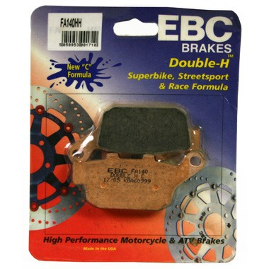 EBC HH Rear Brake Pads Buell XB12Ss Lightening Long 2009 to 2010