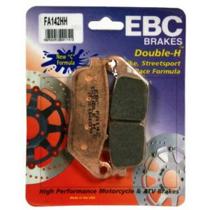 EBC HH 2 pairs of Front Brake Pads for Honda VFR750 1988 to 1997