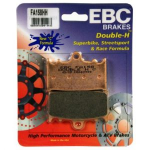 EBC HH 2 pairs of Front Brake Pads for Kawasaki ZZR1100 1993 to 2001