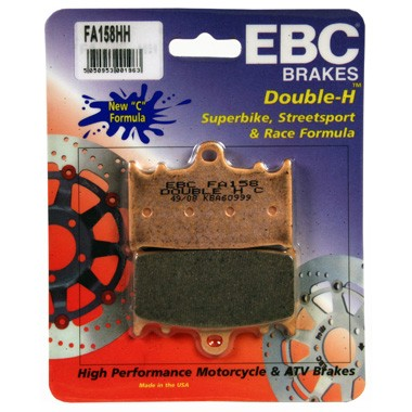 EBC HH 2 pairs of Front Brake Pads for Kawasaki VN 2000 2004 on