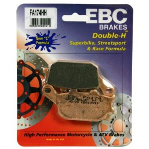 EBC HH Rear Brake Pads for Honda CBR600 FS to FW 1995 to 1998