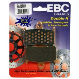 EBC HH 2 pairs of Front Brake Pads for Honda CB1000 FP-FV 1093 to 1997