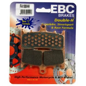 EBC HH 2 pairs of Front Brake Pads for Kawasaki ZX12 R 2000 to 2003