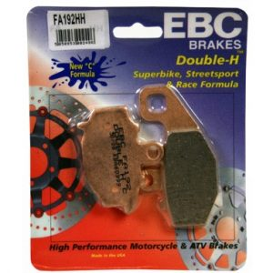 EBC HH Rear Brake Pads for Kawasaki ZX-6R G1 J2 1998 to 2001
