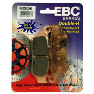 EBC HH 2 pairs of Front Brake Pads for Honda Deauville 1998 to 2001