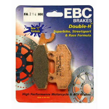 2 Pairs of EBC HH Front Brake Pads Triumph Tiger 885 up to '97