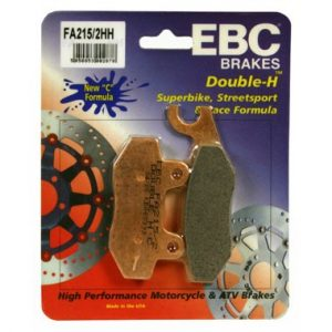 EBC FA215/2 HH Rear Brake Pads Triumph Tiger 955 '04-'06