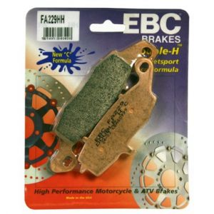 EBC HH 2 pairs of Front Brake Pads for Kawasaki ZR-7 S 1999 to 2004