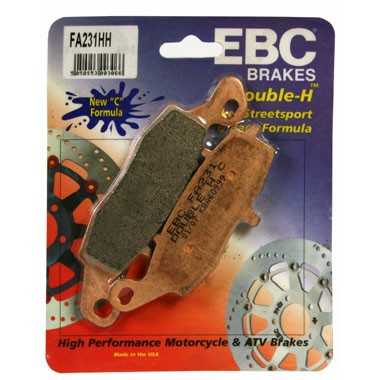EBC HH Rear Brake Pads for Kawasaki VN1500 and1600 MeanStreak 2002 to 2004