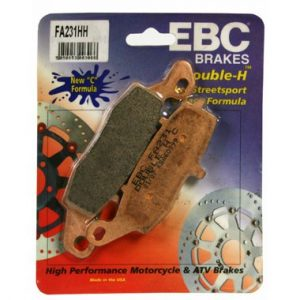 EBC HH Rear Brake Pads for Kawasaki VN1600 Classic and Tourer 2003 to 2008
