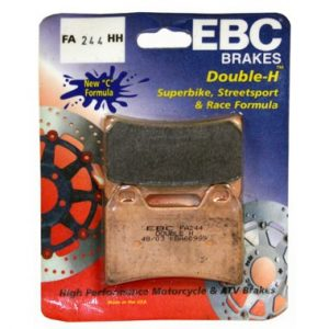 EBC HH 2 pairs of Front Brake Pads for Ducati SuperSport 1000 DS 2003 to 2006