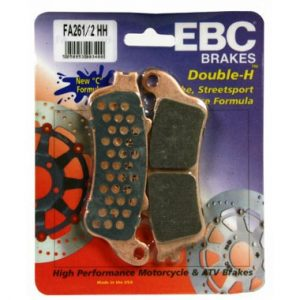 EBC HH 2 pairs of Front Brake Pads for Honda VFR800 1998 to 2005