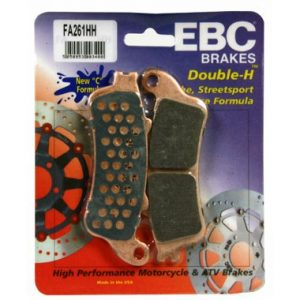 EBC HH 3 pairs of Brake Pads for Honda NT650 Deauville 2002 to 2004