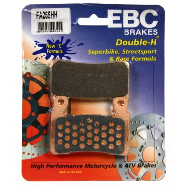 EBC HH 2 pairs of Front Brake Pads for Honda VTR1000 SP1 1999 to 2002