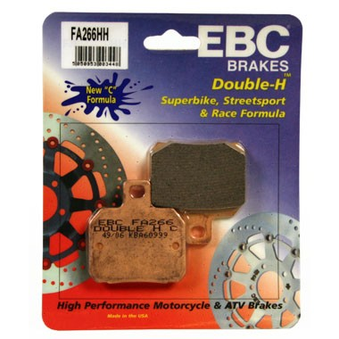 EBC FA 266 HH Rear Brake Pads Ducati Hypermotard 1100 2007 to 2009