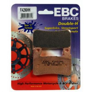 EBC HH 2 pairs of Front Brake Pads for Honda CBR600 1999 to 2007