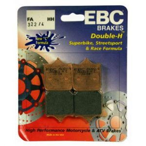 EBC FA322/4 HH 2 sets of Front Brake Pads for Ducati 748R 2001 to 2002
