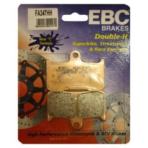 2 pairs EBC FA347 HH Front Brake Pads Triumph Speed Triple upto 2007