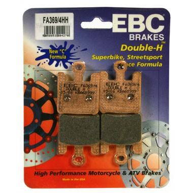 EBC HH 2 sets of Front Brake Pads for Kawasaki ZX636 2003 to 2006