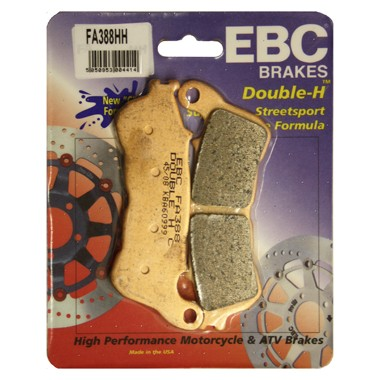 EBC HH Front Brake Pads for Honda CBF500 '04-'07 ABS Models