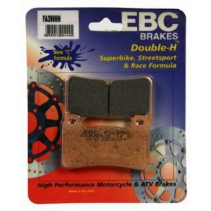 EBC HH 2 pairs of Front Brake Pads for Honda CBR600 RR 2007 to 2009