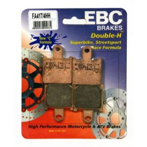 EBC HH 2 sets of Front Brake Pads for Kawasaki ZZR1400 2006 on