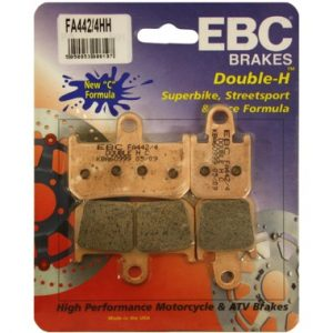 2 Pairs EBC FA442/4HH Front Brake Pads Yamaha MT01 2007 on