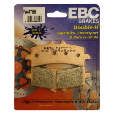 EBC HH 2 pairs of Front Brake Pads for Ducati 1100 Streetfighter 2009 on