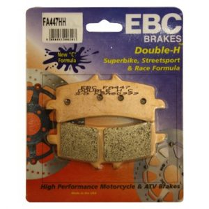 2 pairs EBC FA447HH Front Brake Pads for Ducati Diavel