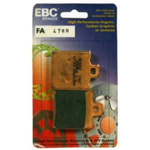 EBC FA47HH Rear Brake Pads Yamaha TZR125R 1991 to 1995