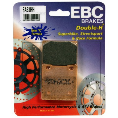 EBC FA63 HH Rear Brake Pads for Suzuki GS500 '89-'95