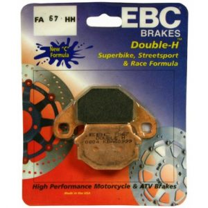 EBC HH 2 pairs of Front Brake Pads for Kawasaki GPZ500 S 1988 to 1993