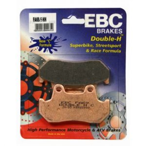 EBC HH Rear Brake Pads for Honda CBR600 FH to FL 1987 to 1990