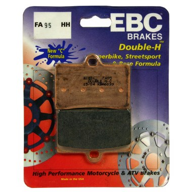 EBC FA95HH Front Brake Pads Cagiva Raptor 125 2003 to 2010