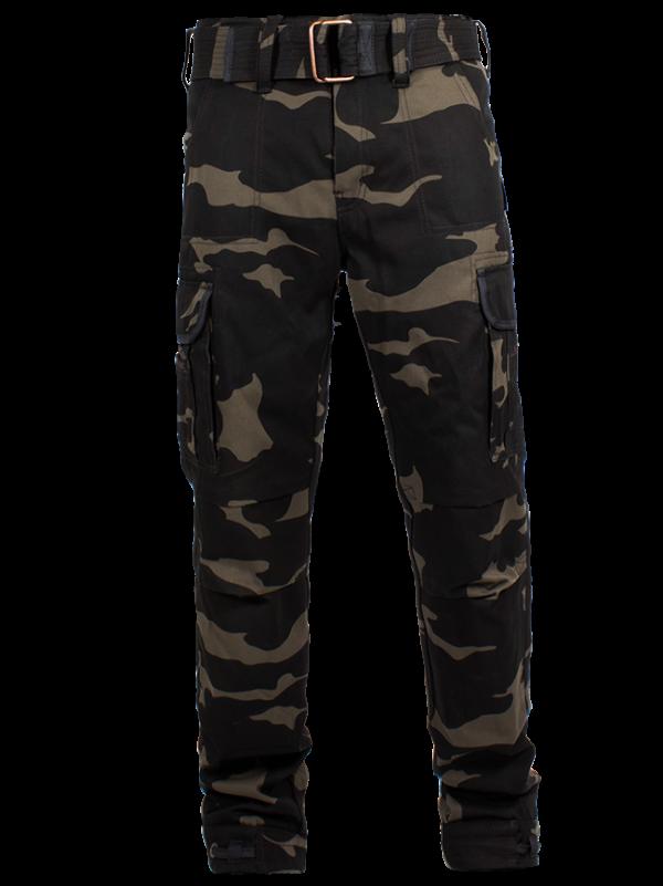 John Doe Kevlar Motorcycle Cargo Pants Camouflage Long Leg