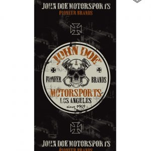 John Doe Motorcycle Neck Tube Tunnel Rebel