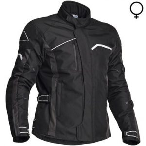 Jofama Voyage Lady Textile Motorcycle Jacket Black