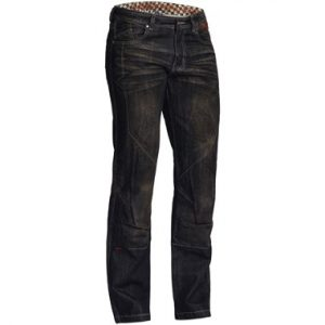 Lindstrands Blaze Pants Denim Motorcycle Jeans Black