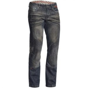 Lindstrands Blaze Pants Denim Motorcycle Jeans Dark Blue