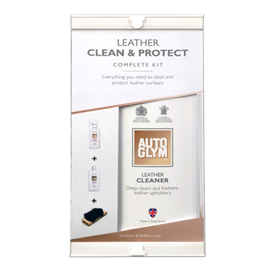 Autoglym Leather Clean and Protect Kit
