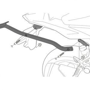 Givi 4116FZ Monorack Arms Kawasaki Z300 2015 on