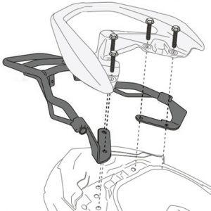 Givi SR2123 Rear Rack Yamaha N Max 125 2015 to 2020