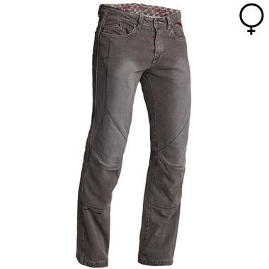 Lindstrands Blaze Lady Motorcycle Jeans Lava Short Leg