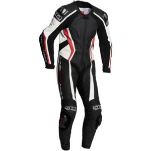 Lindstrands Hyper 1 Piece Leather Motorcycle Suit Red