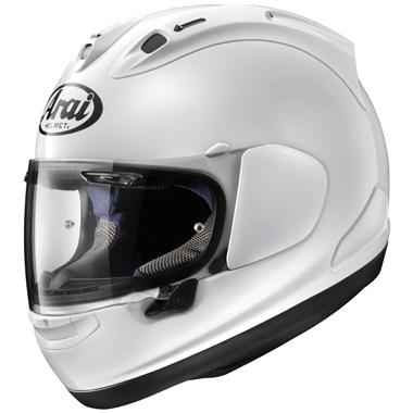 Arai RX7V Motorcycle Helmet Diamond White